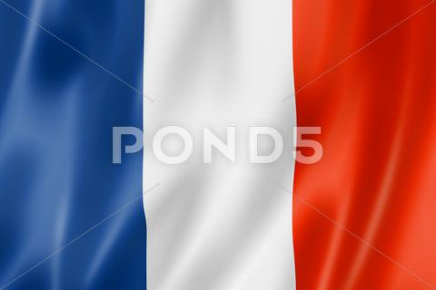 Stock photo of french flag