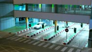 Stock Video Footage of Airport Parking Garage