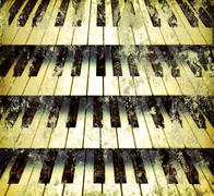 Stock Photo of background piano keys