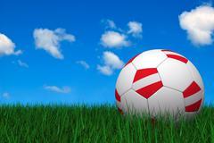 Stock Illustration of austrian soccer ball