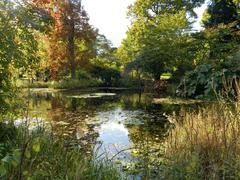 Kew in the autumn Stock Photos