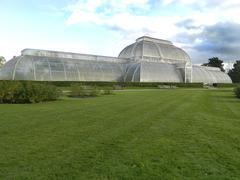 Greenhouse at Kew gardens - stock photo