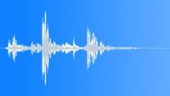 Wood close reverberant Sound Effect