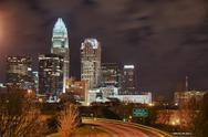 Charlotte Skyline HDR Stock Photos