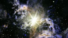 Stock Video Footage of Space star supernova nebula