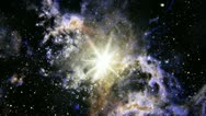 Space star supernova nebula Stock Footage