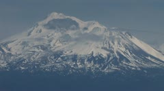 1080p Close Up Mount Shasta Stock Footage