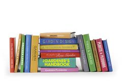 Books - Gardening - stock photo