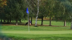 Golf seven Stock Footage