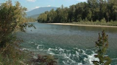 Shuswap River - stock footage