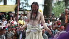 Thaipusam  is a Hindu festival Stock Footage
