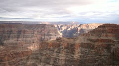 The stunning landscape of the Grand Canyon, Arizona Stock Footage