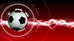 Jalkapallo urheilu tausta 04 (HD) Arkistovideo