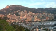 Monaco Early Morning Stock Footage