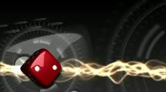 Casino Dice Background - Casino 28 (HD) - stock footage