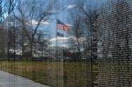 Stock Photo of vietnam memorial in washington dc