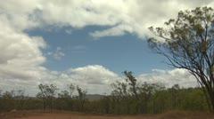Timelapse Sky In Australian Outback Stock Footage