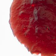 red jelly closeup - stock photo