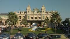 Place du Casino.Monte Carlo. Stock Footage