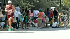 Boston Marathon Stock Footage