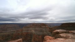 View of Eagle Rock in The Grand Canyon, Arizona Stock Footage