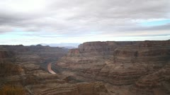 The stunning Grand Canyon and Colorado River Stock Footage
