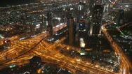 From Khalifa 6 pseudo schwenk Stock Footage