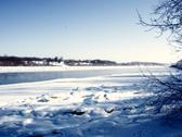 Winter River.JPG Stock Photos