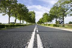 Stock Photo of summer road