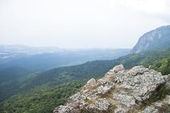 Stock Photo of mountain view