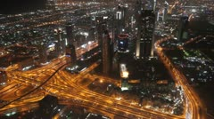 from khalifa10 fast motion - stock footage