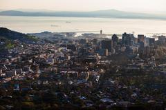Cape town aerial Stock Photos