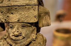 Pre-Columbian Sculpture Stock Photos