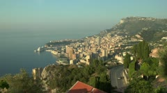Monaco Zoom-in Stock Footage