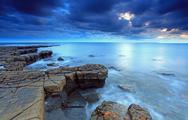Stock Photo of dorset kimmeridge bay