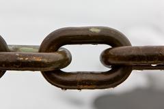 Iron Aged Chain Link Macro Stock Photos