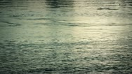 Evening over the river surface Stock Footage