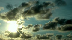 Clouds, Cloudy Sky - stock footage