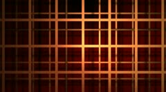 Shadow grid Stock Footage