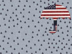 Crying For America Stock Illustration