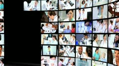 Montage Images Medical Research Treatment Stock Footage