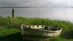 Boat Baltic Sea - Northern Germany Stock Footage