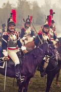 The Battle of Borodino in 1812. Stock Photos