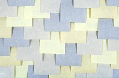 Notes paper background - stock photo