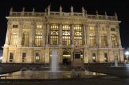 Palazzo madama in turin, italy Stock Photos