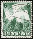 Stock Photo of stamp of fascist germany