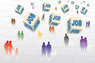Job Stock Illustration