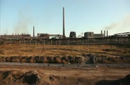 Stock Video Footage of Large metallurgical plant