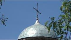 Friday Church ancient Chernigov Stock Footage
