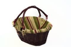 Cane basket rotated Stock Photos